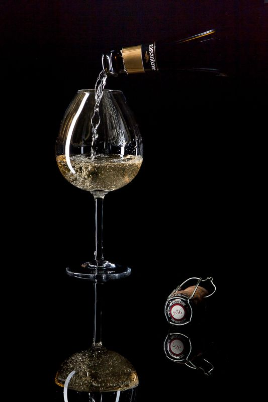 photographe bouteille champagne